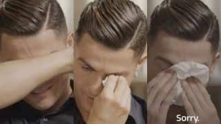 'My Father Was Drunk Person', Cristiano Ronaldo Breaks Down in Tears in Emotional Interview With Piers Morgan