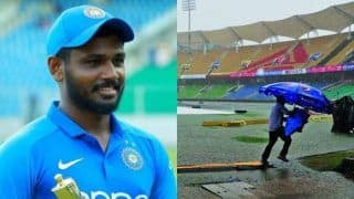 India A Cricketer Sanju Samson Donates Rs 1.5 Lakh to Groundsmen of Kerala Cricket Stadium