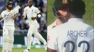 Ashes 2019: Jofra Archer Scares Mathew Wade to Prevent Him From Taking Extra Run During England vs Australia Fourth Test