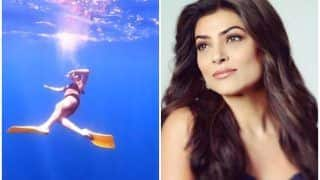 Sushmita Sen's Viral Videos of Dancing And Diving in Indian Ocean at The Maldives Will Take Your Breath Away!