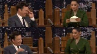 Lilly Singh's 'Thank you Note' For Jimmy Fallon in THIS  Video Makes Crowd Cheer Non-Stop