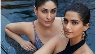 Sonam Kapoor Wishes 'Veere' Kareena Kapoor Khan on Birthday And Fans Can't Stop Drooling Over Their Pool Picture