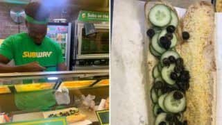 Bizarre! Woman's Subway Order With Just Cheese And Cucumber Goes Viral, Netizens Calls it 'Worst Sandwich'