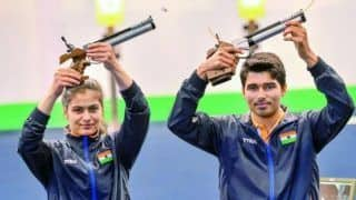 ISSF Shooting World Cup: पदक तालिका में भारत शीर्ष पर, मनु और सौरभ ने दिलाया पांचवां गोल्ड