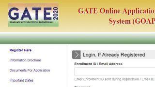 GATE 2020 Application: IIT Delhi ने जारी किया गेट 2020 के लिए आवेदन, ये है आखिरी तारीख