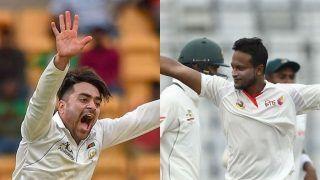 Bangladesh vs Afghanistan: अफगान खिलाड़ी राशिद खान नेशाकिब अल हसन को पछाड़ कर बनायाये वर्ल्डरिकॉर्ड