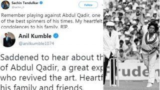 सचिन से लेकर कुंबले तक नेदी पाकिस्तान के पूर्व लेग स्पिनर अब्दुल कादिर को श्रद्धांजलि, देखें पोस्ट