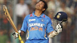 77 मैचों के बादआज के ही दिन 'क्रिकेट के भगवान' सचिन ने लगाया था अपना पहला वनडे शतक
