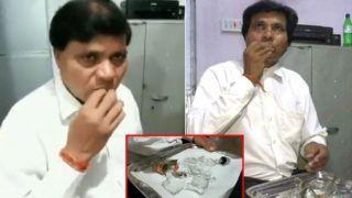 मध्य प्रदेश के इसवकील का अजीबोगरीब शौक, नाश्ते में खाता है 1 किलोकांच, देखेंVIDEO