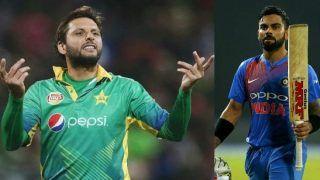 India vs South Africa 2nd T20I: कोहली की शानदार पारी को देख शाहिद अफरीदी ने कुछ इस अंदाज में दीमुबारकबाद