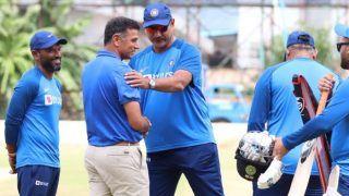 India vs South Africa: तीसरे और आखिरी टी-20 मैच से पहले प्रैक्टिस सेशन में दिखे राहुल द्रविड़