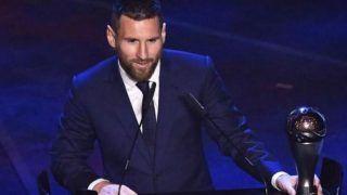 Best FIFA Football Awards 2019: रोनाल्डो और वान दिक को पछाड़ कर मेसी फिर बने 'सर्वश्रेष्ठ फुटबॉलर ऑफ द ईयर'