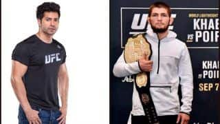 Varun Dhawan's Contagious Excitement as Khabib Nurmagomedov Enters The Ring is All UFC Fans Ever!