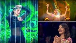 Madhuri Dixit's Killer Performance on Kalank Songs Medley Sets Dance Deewane's Stage on Fire