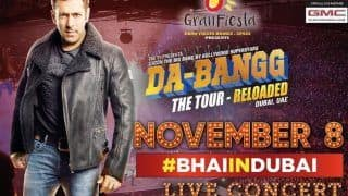Salman Khan Sets Dubai Fans on Frenzy as he Drops Date-Time-Venue of Da-Bangg Tour 2019