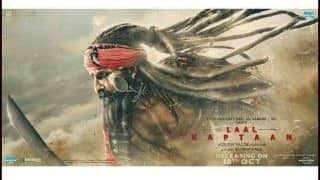 Laal Kaptaan New Poster: Saif Ali Khan Sets Fans on Edge as he Heads Out With Sword And Blood on His Mind