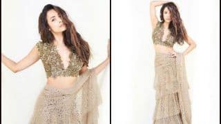 Malaika Arora Gives Saree a Sultry Twist This Wedding Season, Brides-to-be Take Note