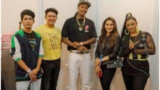Madhuri Dixit Poses With Wiz Khalifa After Musical Night at Sunburn, Fans go All Heart-Eyed Over Viral Picture