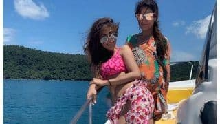 Mouni Roy's 'Fishy' Dare as She Rocks Pink Bikini Look on Yacht in Thailand Sets Fans Gushing