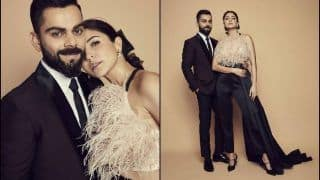 Anushka Sharma-Virat Kohli's Regal Look At The Indian Sports Honours Event Sets Fans Gushing Over Hottest Couple