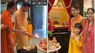 Shilpa Shetty's Festive Spirit And Navaratri Vibes in THIS Video With Family is Making us Homesick Already!