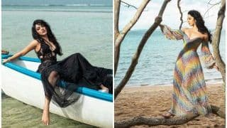 Kiara Advani Sets Mauritius Beachside on Fire With Sultry Poses For Photoshoot, Pictures go Viral