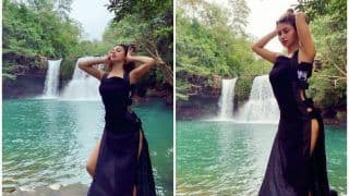 Mouni Roy's Sultry Pictures Before a Waterfall in Thailand Makes Fans go Weak in The Knees