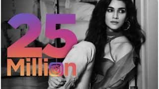Kriti Sanon Celebrates 25 Million followers on Instagram With THIS Too-Hot-to Handle Picture And Our Sunday is Made!