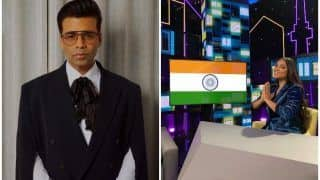 Karan Johar Calls Lilly Singh 'Bonafide Rockstar' For THIS Reason, Picture With Indian Flag Goes Viral
