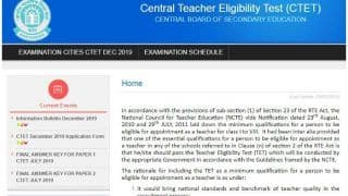 CBSE Announces CTET Examination Date | Check Schedule, How to Apply, Modes of Payment