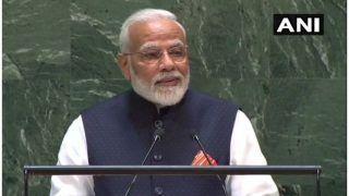संयुक्त राष्ट्र महासभा: PM मोदी ने कहा- भारत में आतंक के खिलाफ आवाज़ है और आक्रोश भी, देखें VIDEO