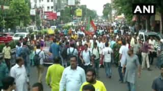 Babul Supriyo Heckled: BJP Leaders Take Out Protest Rally in Kolkata