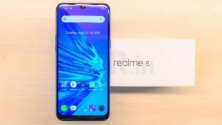 Realme 5 को मिला पहला सॉफ्टवेयर अपडेट, पहले से बेहतर हुई कैमरा क्वालिटी