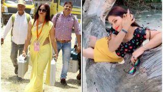 Reena Dwivedi: मिनी स्कर्ट में दिखीं पीली साड़ी वाली पोलिंग ऑफिसर, Video हो रहा वायरल