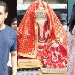 Arpita Khan's Ganpati Celebration: Salman Khan Seeks Blessings, Katrina Kaif Joins in
