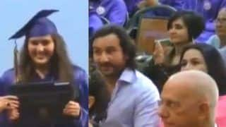 Saif Ali Khan And Amrita Singh Cheer Loud For Sara Ali Khan at Her Graduation Ceremony in Viral Throwback Video
