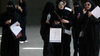 प्रतिबंध के खिलाफ सऊदी अरब की 'बागी' महिलाएं छोड़ रही हैं बुर्का पहनना