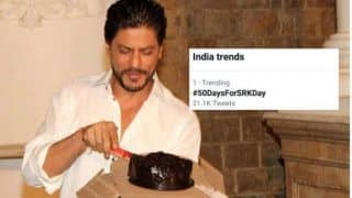 #50DaysForSRKDay: Shah Rukh Khan Fans on Twitter Begin Countdown For His Birthday