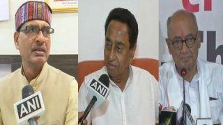 मध्यप्रदेश में अभूतपूर्व संवैधानिक संकट, कमलनाथ CM, सरकार चला रहे दिग्विजय: शिवराज