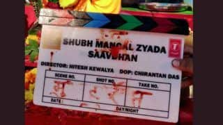 Shubh Mangal Zyada Saavdhan: Ayushmann Khurrana's Film Goes on Floors Today, Releases on This Day