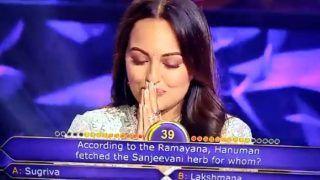 Sonakshi Sinha Trolled For Saying 'Hanuman Fetched Sanjeevani For Sita' on KBC 11