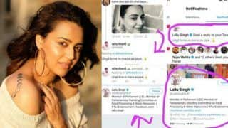 Swara Bhasker Blasts BJP MP For Liking Vulgar Comment Against Her, His Reply Shows People Still Believe in Sorry