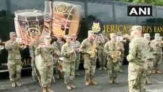 संयुक्त सैन्य अभ्यास के दौरान अमेरिकी सैनिकों ने बजाया 'जन गण मन', देखें वीडियो
