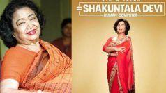 Shakuntala Devi First Look: चमकीली साड़ी पहनकर 'शकुंतला देवी' बनी विद्या बालन, सुलझाएंगी बड़े से बड़ा सवाल