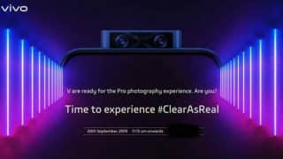 Vivo V17 Pro with dual pop-up selfie cameras to launch in India on September 20