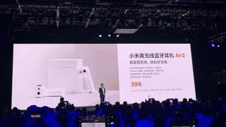 Xiaomi Air 2 Wireless Bluetooth headset just-like Apple AirPods launched in China for RMB 399