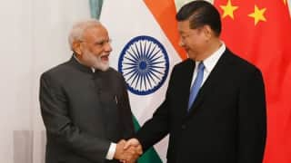 A Painting and A Lamp: Here Are the Gifts That PM Modi Presented to Xi Jinping