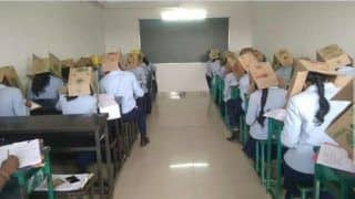 Just Weird! Karnataka College Made Students Wear Cardboard Boxes to Stop Them from Cheating
