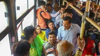 Arvind Kejriwal Boards DTC Buses, Seeks Feedback from Women About Free-Ride Scheme