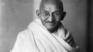 Mahatma Gandhi's Photo Defaced, Ashes Stolen In Madhya Pradesh's Rewa